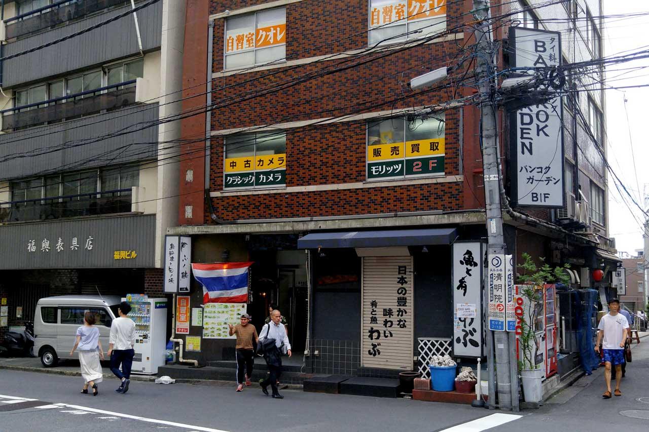 Classic Camera Moritz storefront - Used camera store in Shinjuku, Tokyo - EYExplore