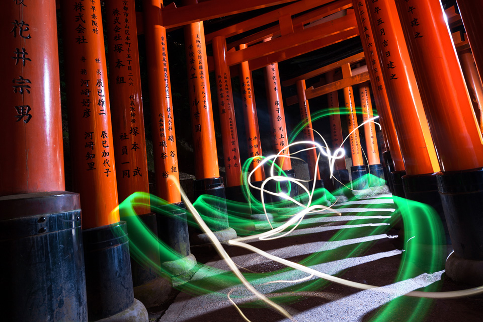 Spirit at Fushimi Inari