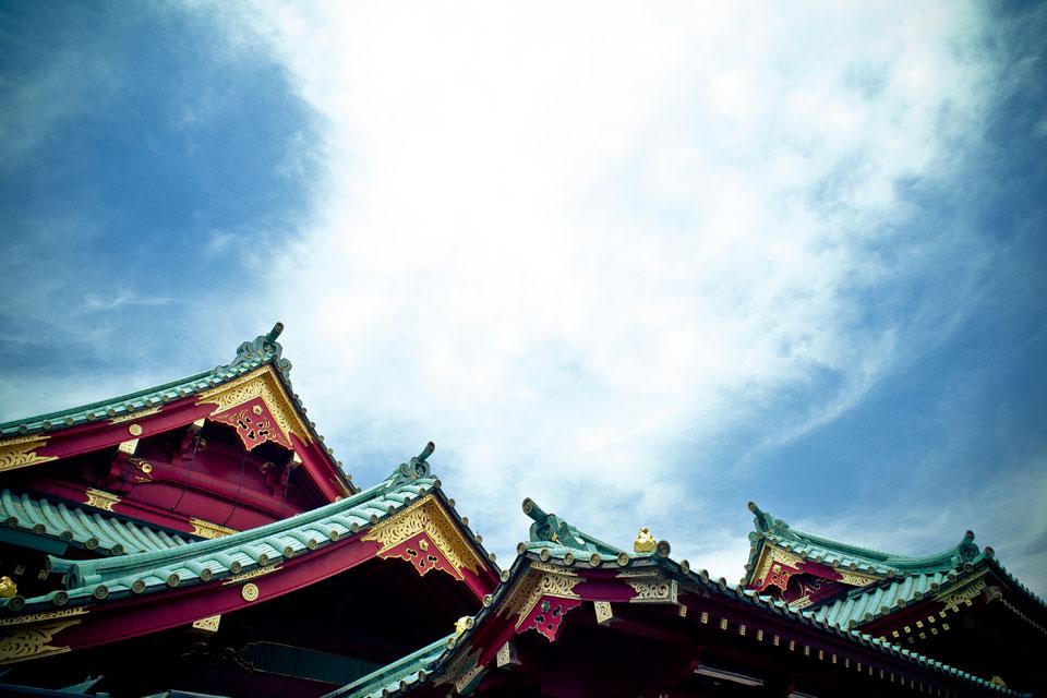 Eaves of Kanda-myojin