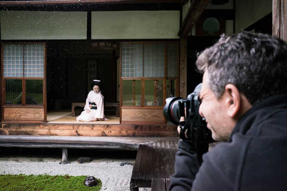 Kyoto - Photoshoot with Geisha
