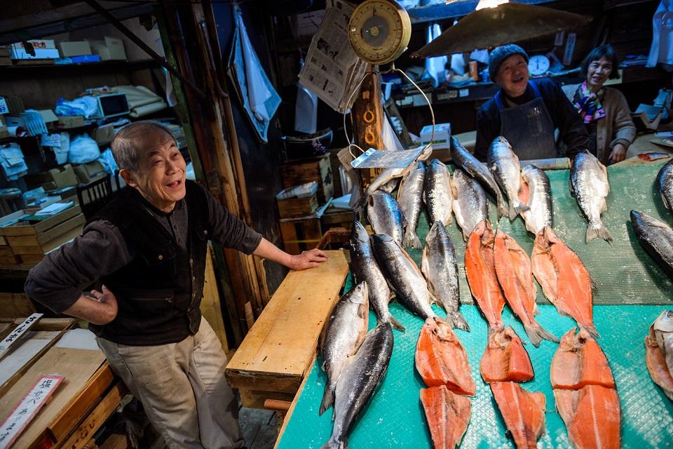 Osaka Rebooted - Tsuruhashi Salmon - EYExplore