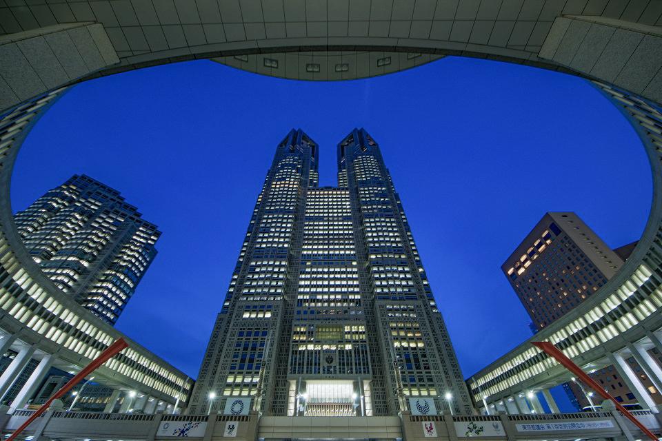 1. Free Observation Decks in Tokyo Japan Tokyo Metro Building