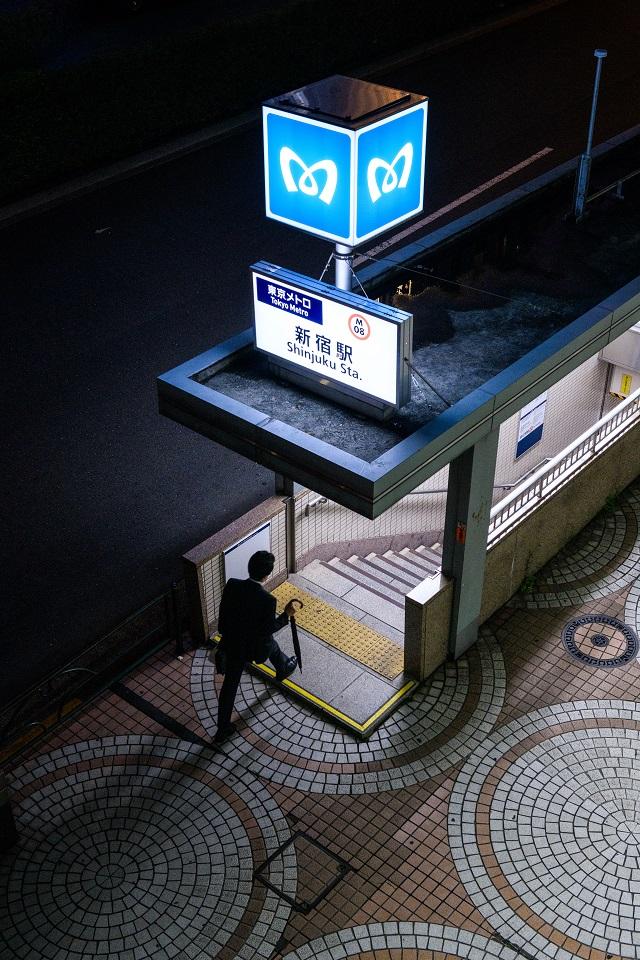 15 of Tokyo's Favourite Instagram Spots Revealed - EYExplore - 6. Shinjuku Metro entrance A18
