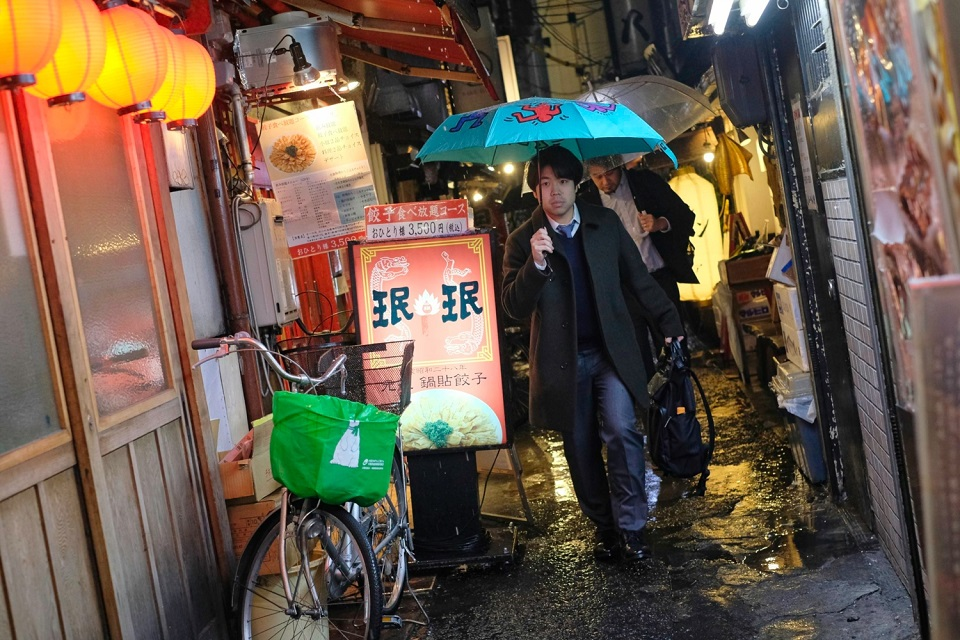 Osaka Rebooted - Umeda Umbrella Alley - EYExplore