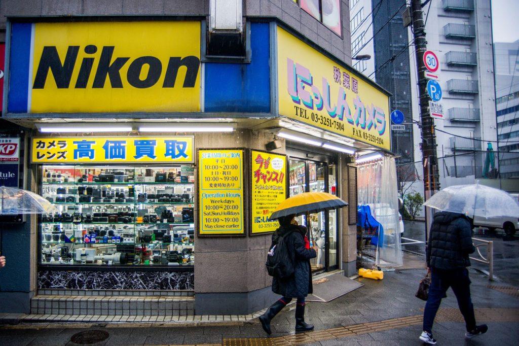 3. Akihabara Nisshin Camera - Used Camera Stores Akihabara to Ueno