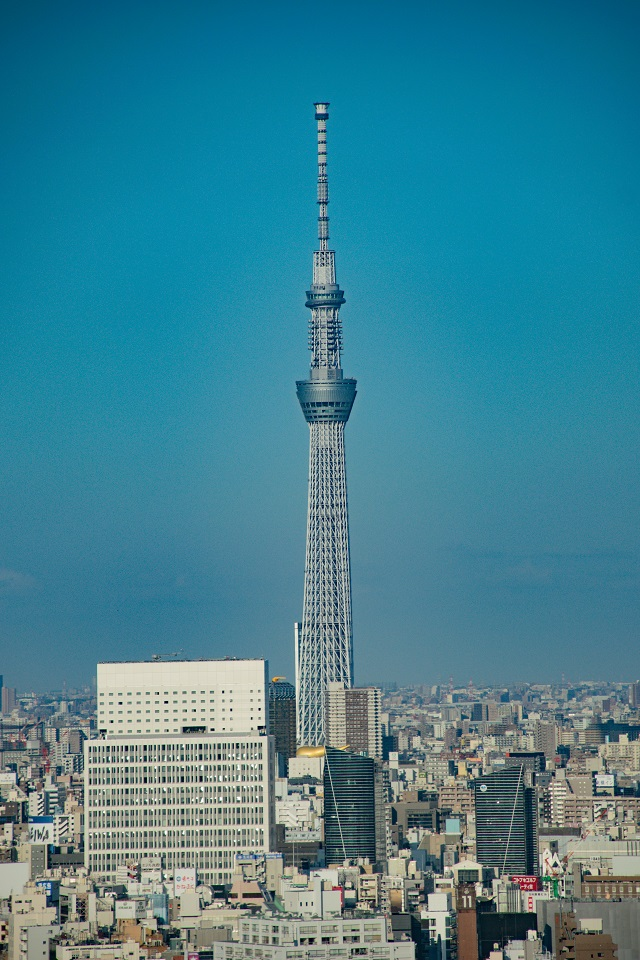 5. Free Observation Decks in Tokyo Japan Skytree from Bunkyo Civic Center