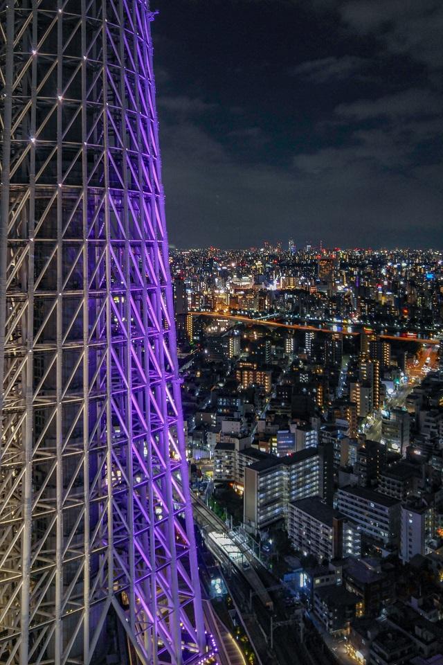 7. Free Observation Decks in Tokyo Japan Solamachi LG G4