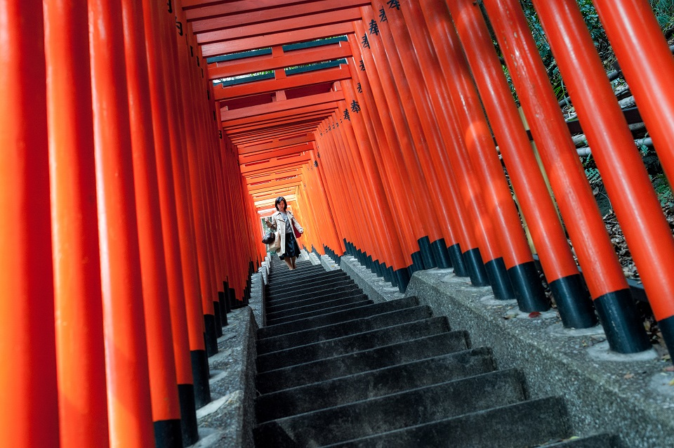 15 of Tokyo's Favourite Instagram Spots Revealed - EYExplore - 15 of Tokyo's Favourite Instagram Spots Revealed - EYExplore - Hie Shrine (Sanno Shrine) Torii Gate