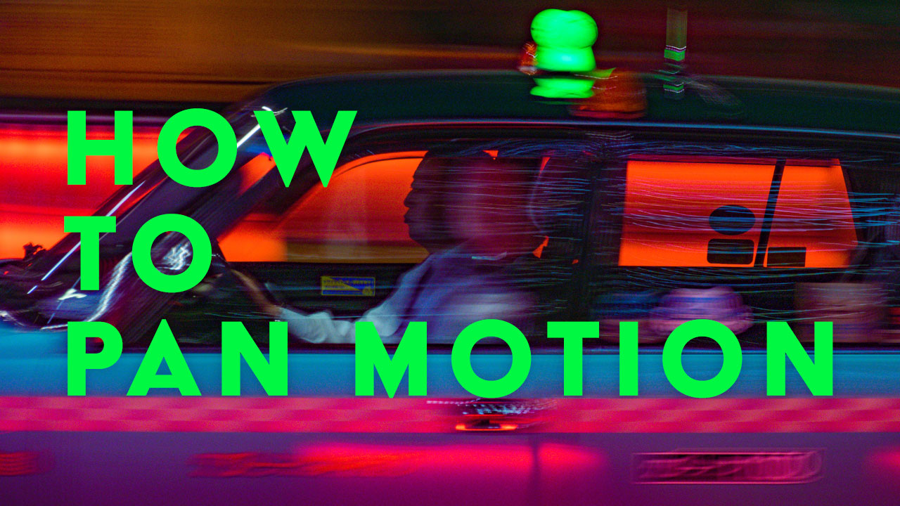 Photography Panning Tutorial - Capturing a Car with Motion Blur