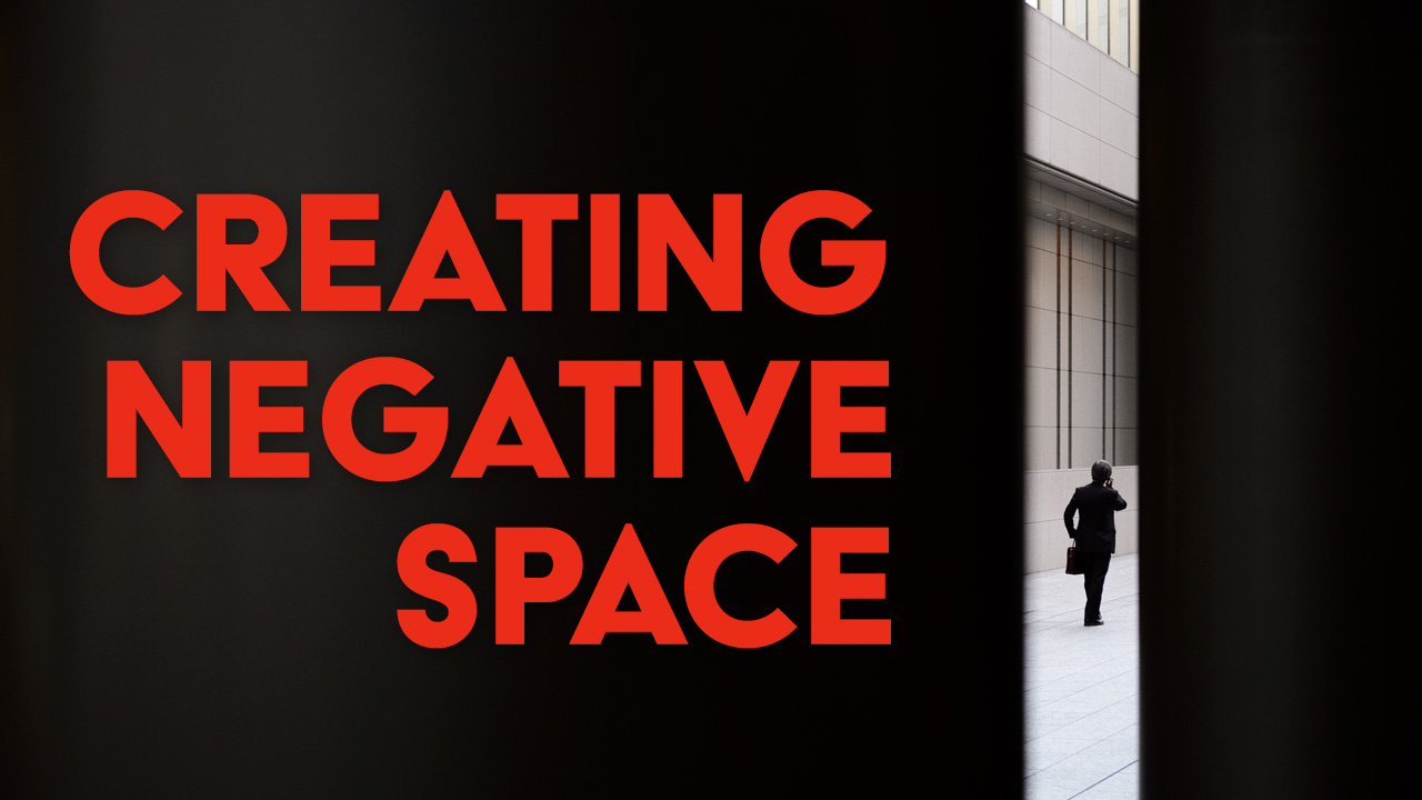 How to Create Negative Space - Street Photography Tutorial