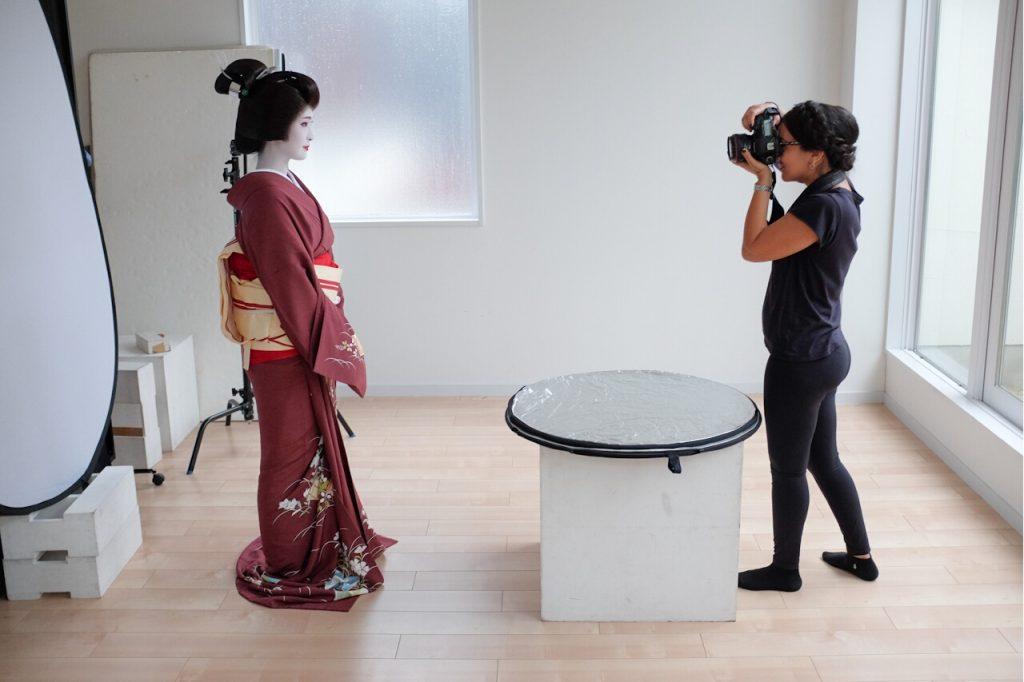 Behind The Mask Geisha Pro Photo Shoot-Safaa photographs Kanowaka.