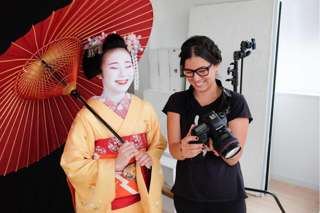 Behind The Mask Geisha Pro Photo Shoot-Safaa and Kanohisa review photos.