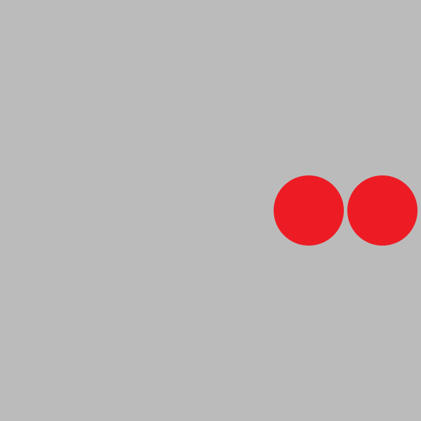 Figure 5 - Two red circles near the right edge, almost touching.
