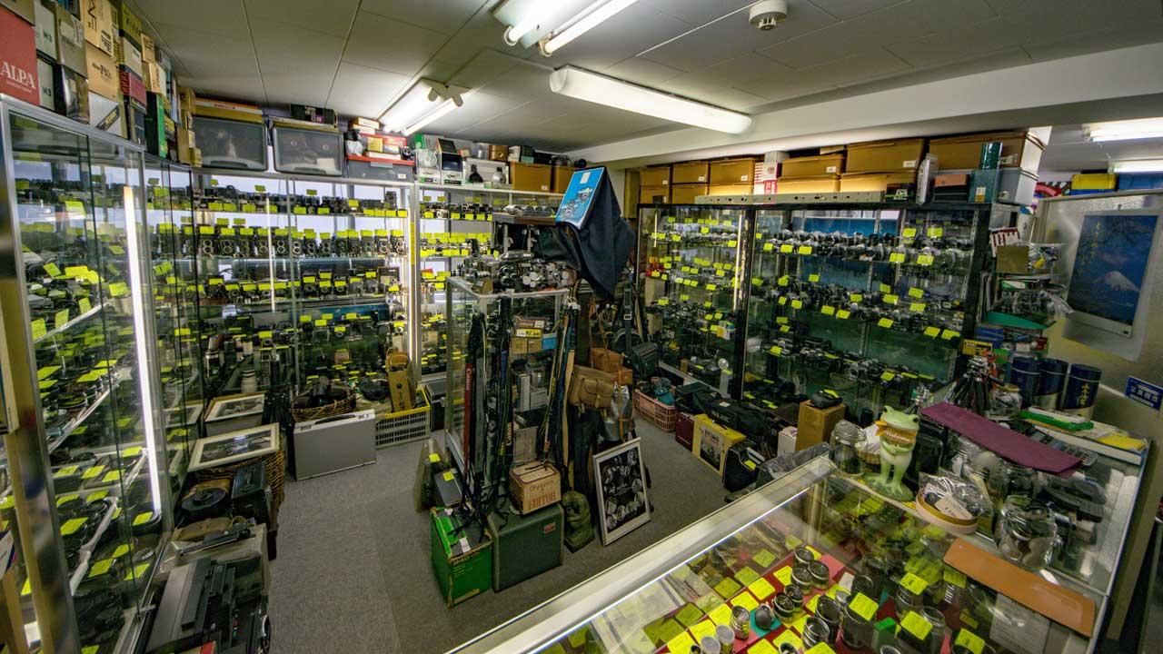 Classic Camera Moritz interior - Used camera store in Shinjuku, Tokyo - EYExplore