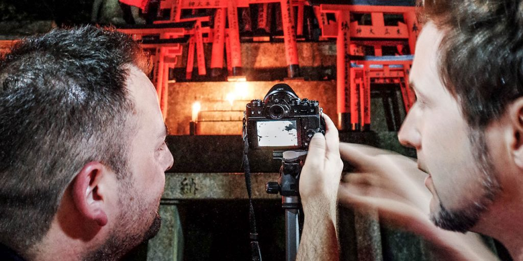 EYExplore Kyoto Photo Tour & Workshop - Painting with light in Fushimi Inari shrine in Kyoto during Inari After Dusk