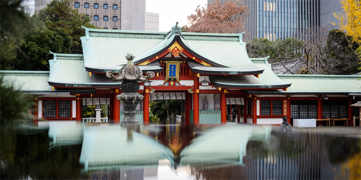 Tokyo is a melting pot of traditional culture and a modern metropolis