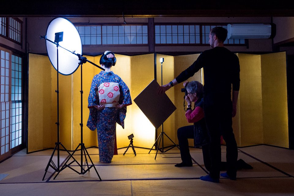 Maiko Studio Geisha Photo Shoot