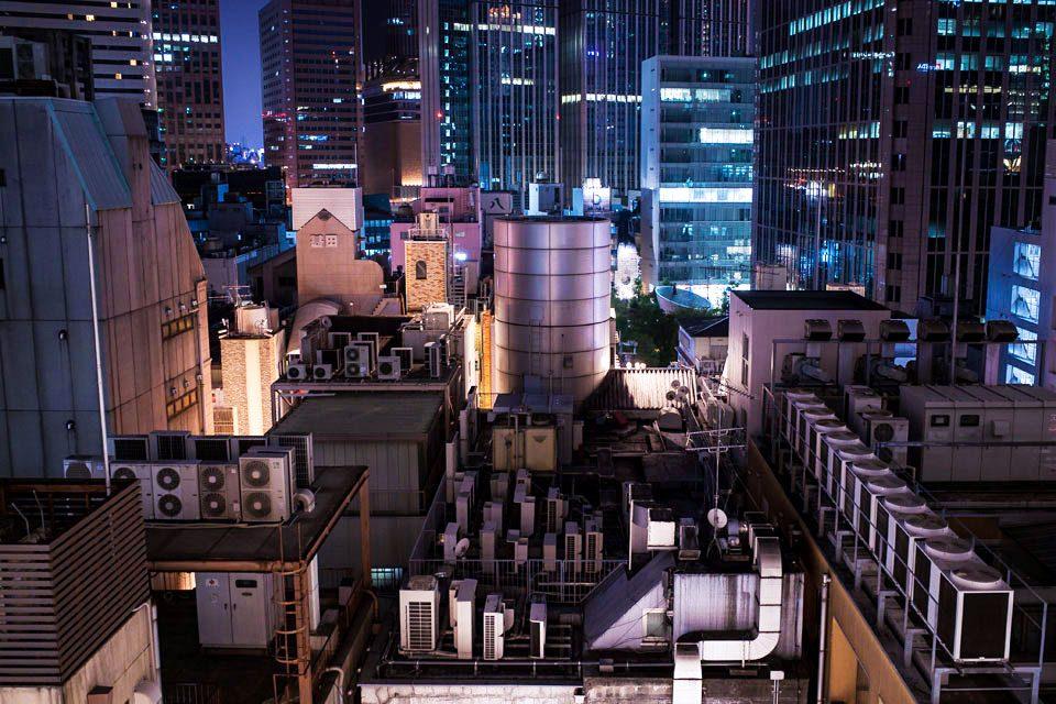 Osaka Cyberpunk Rooftop Urbex