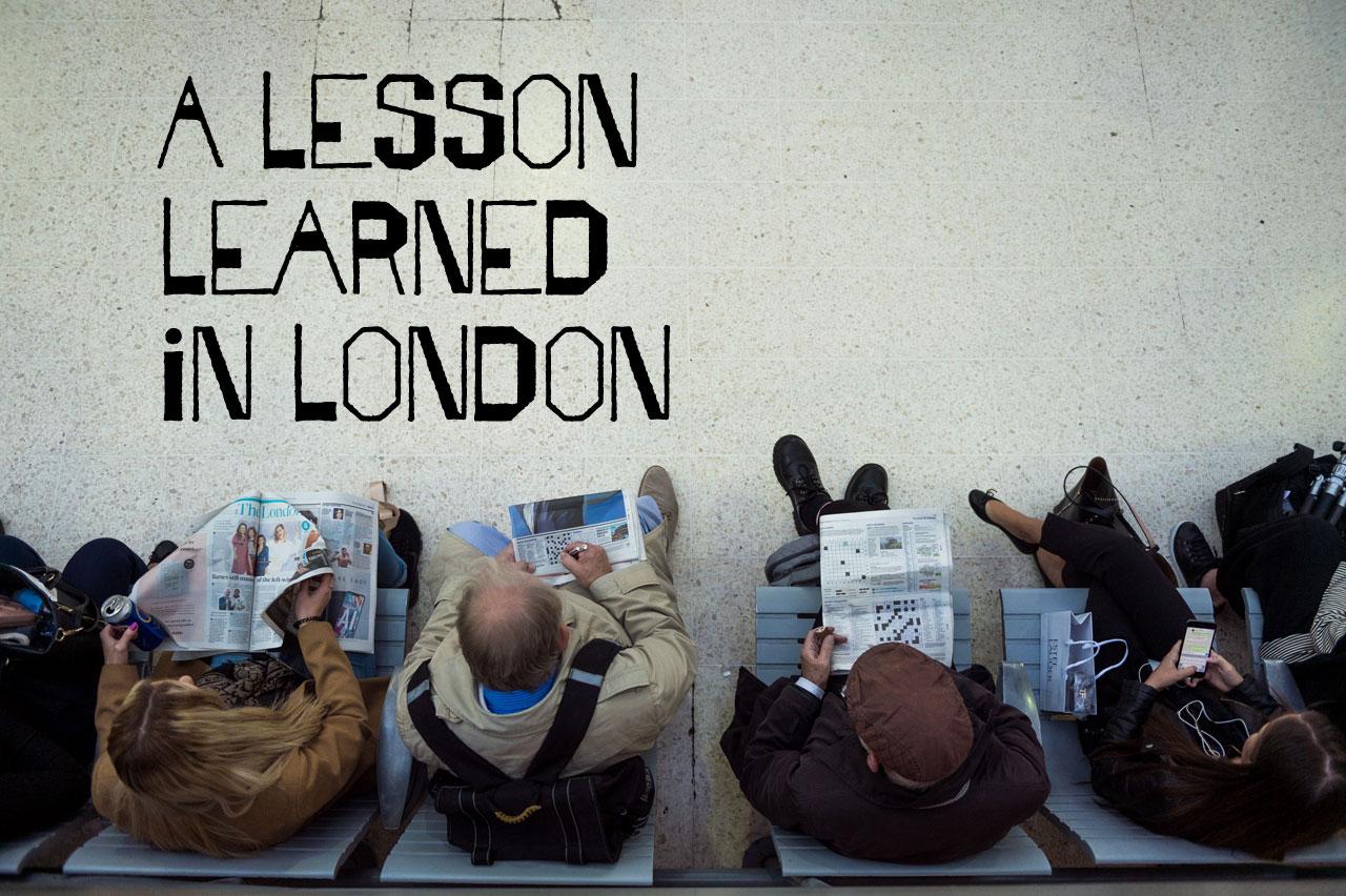 London Photo Tour — A Lesson Learned