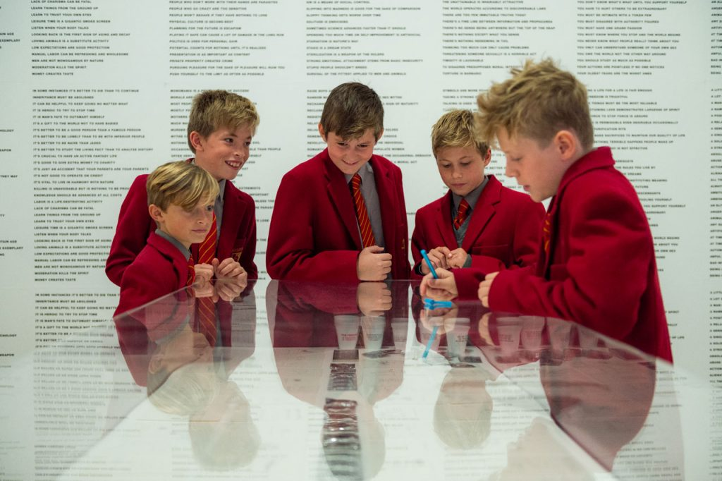 London Street Photography — Boys at the Tate