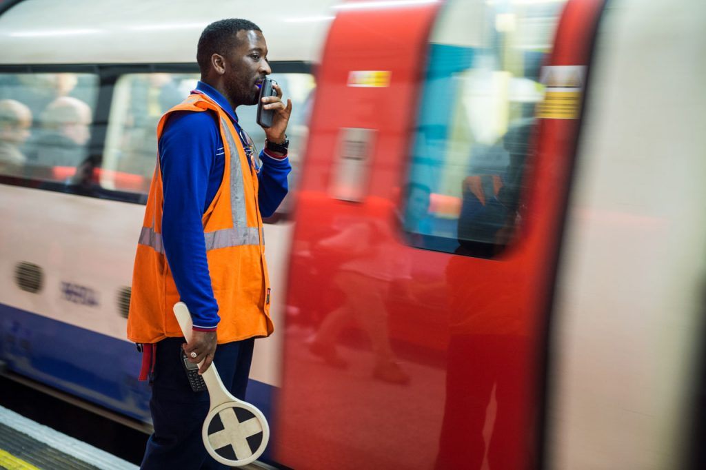 London Street Photography — Conductor