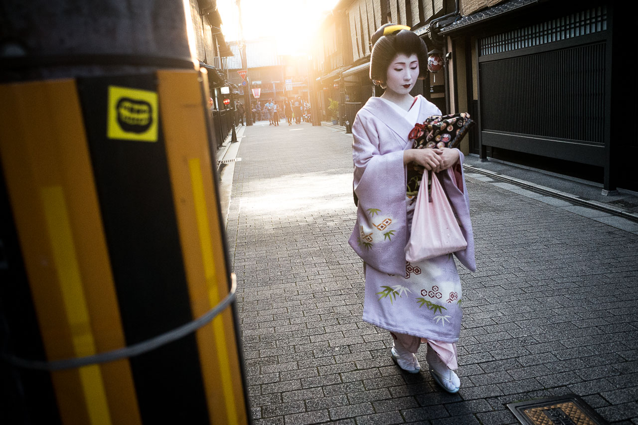 Taking Photos of Geisha in Gion