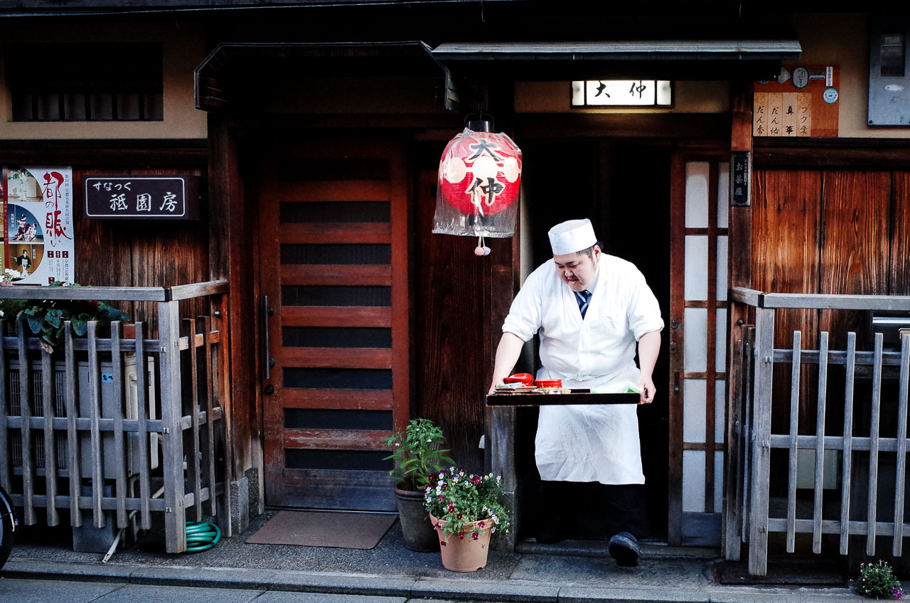 Taking Photos of Geisha in Gion