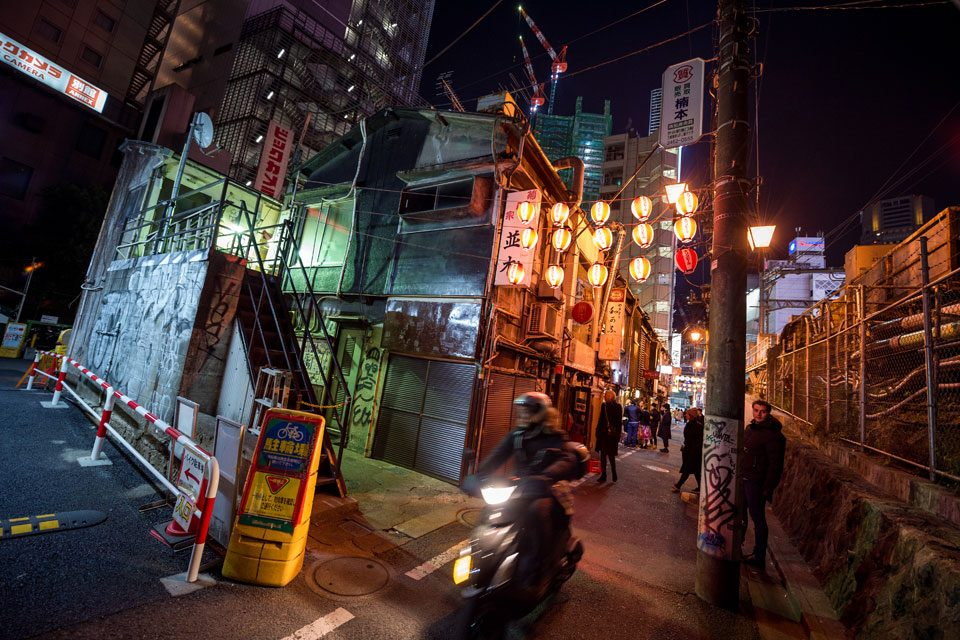 Nonbeiyokocho, also know as Drunkard's Lane, in Shibuya - EYExplore