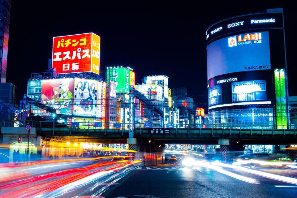 Shinjuku Neon Lights